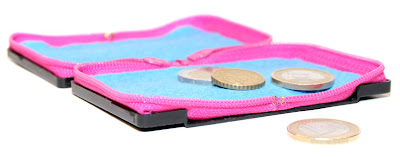 Cassettes diseño de carteras monederos