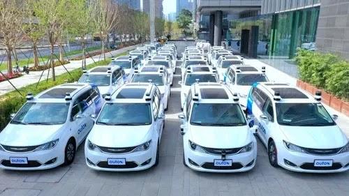 سيارات الأجرة بدون سائق بالكامل تتجول الآن في هذه المدينة في الصين
