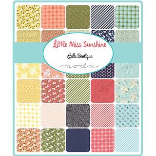 Moda Little Miss Sunshine Fabric by Lella Boutique for Moda Fabrics