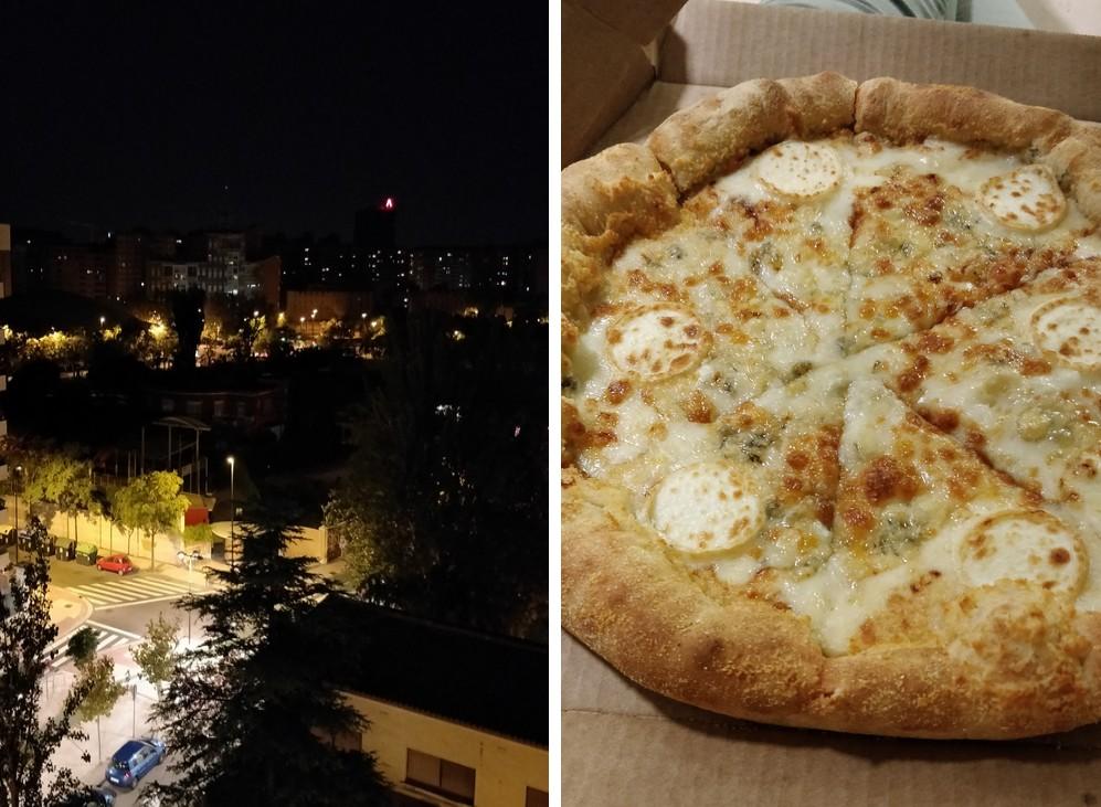 the green frog souvenirs du mois de septembre 2018 saragosse vue chambre étudiante et pizza