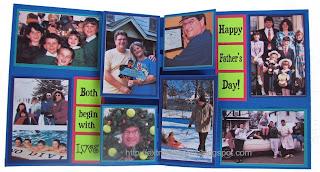 photo album pop up card