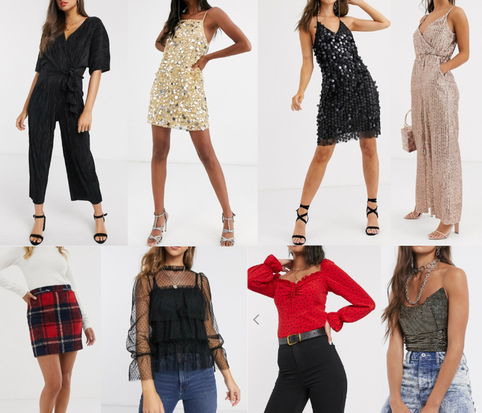 Eight of Asos' pieces perfect for Christmas Party Season
