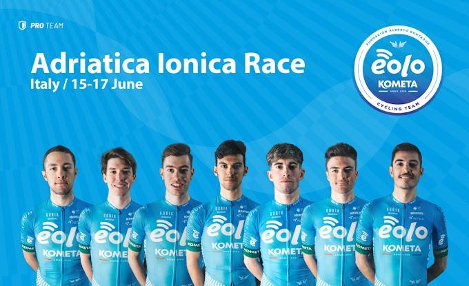 El Eolo - Kometa disputará la Adriatica Ionica Race