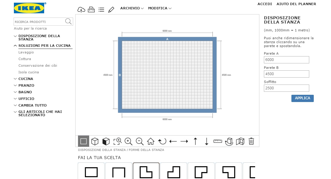 I 5 migliori software gratuiti di home staging home for Planner ikea cucina