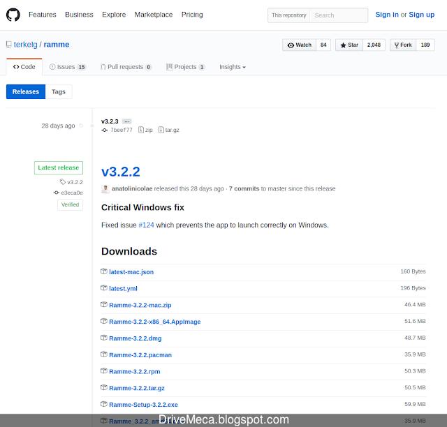 Descargando Ramme de GitHub