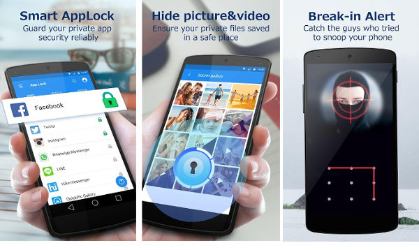 extra security app locker for android with more features