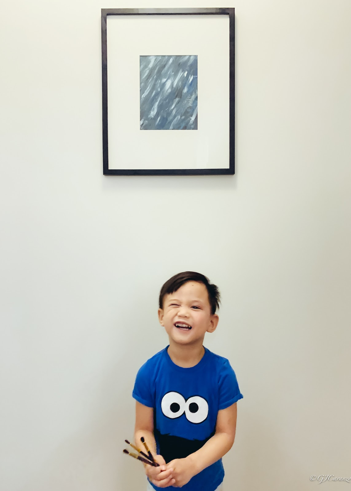 Easy Wall Art Project Kids Could Do