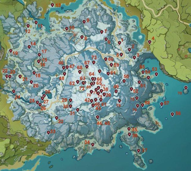 location of 80 Crimson Agates