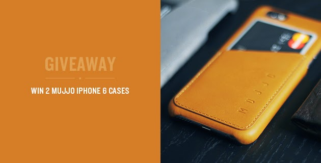 Win 2 Mujjo Wallet Cases for iPhone 6 Giveaway