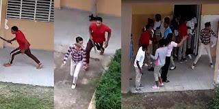 Estudiante siembra el terror en una escuela