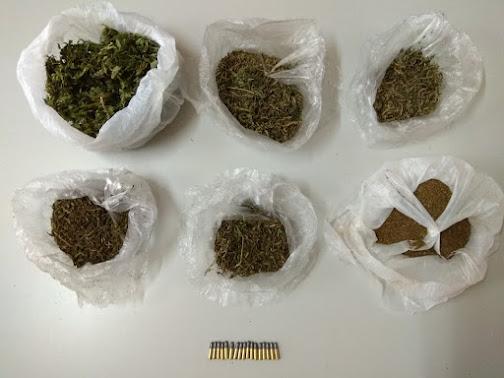 Συνελήφθη ημεδαπός για παραβάσεις της νομοθεσίας περί ναρκωτικών και όπλων