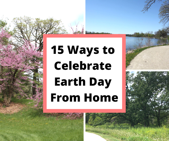 15 Ways to  Celebrate  Earth Day From Home