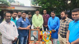 मोदी जी का जन्मदिवस सेवा दिवस के रुप में मनाया, वृक्षारोपण भी किया गया