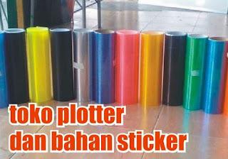 toko plotter dan bahan sticker
