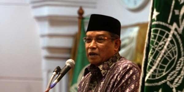 KH Said Aqil Bela Banser Soal Pembakaran Bendera Tauhid di Garut