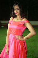 Actress Pujita Ponnada in beautiful red dress at Darshakudu music launch ~ Celebrities Galleries 094.JPG