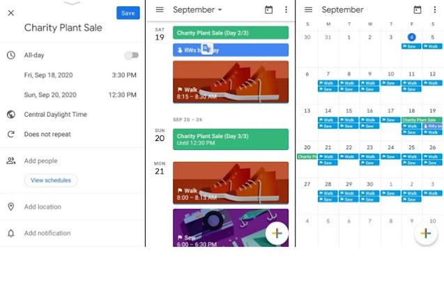 10 Aplikasi Kalender Terbaik untuk Android tahun 2020