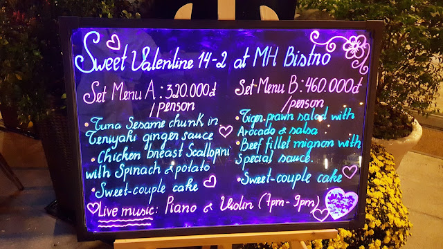 Sweet Valentine 14-2-2017 at MH Bistro