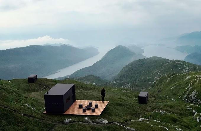 Birdbox - Minimalist Doğa Kabinleri