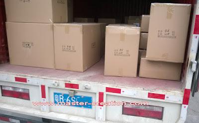 master creation shipment