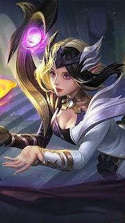 Lunox Twilight Goddess Heroes Mage of Skins V2