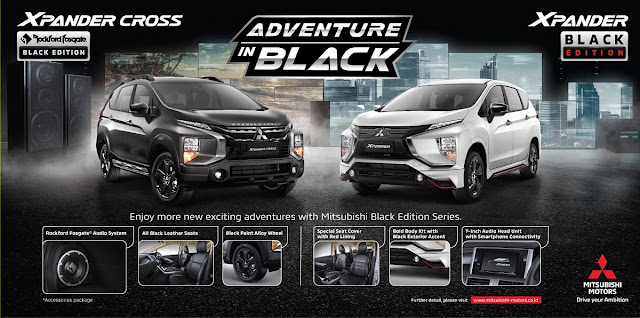 Harga Xpander Black Edition
