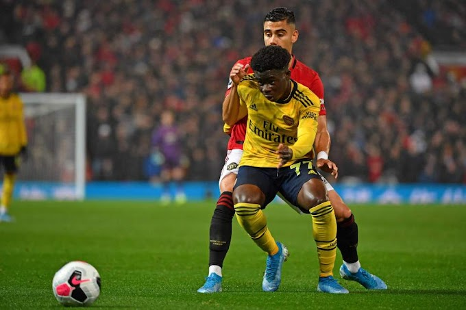 How 18-year-old Bukayo Saka outshone club-record signing Nicolas Pepe during Arsenal's draw with Manchester United at Old Trafford