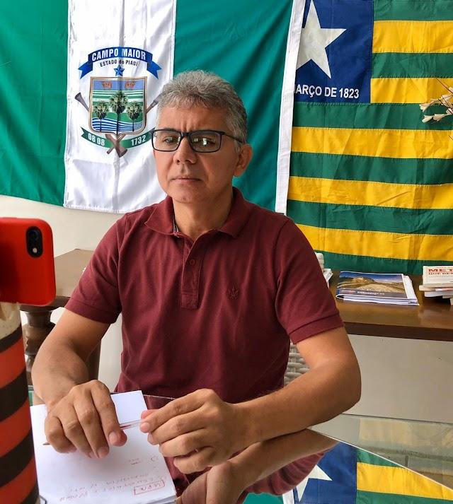 Deputado Paulo Martins solicita leitos de UTI para o Hospital de Campo Maior e ambulância equipada