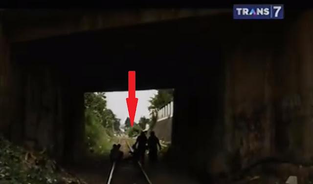 Terowongan Angker Paledang di Bogor Penampakan Hantu