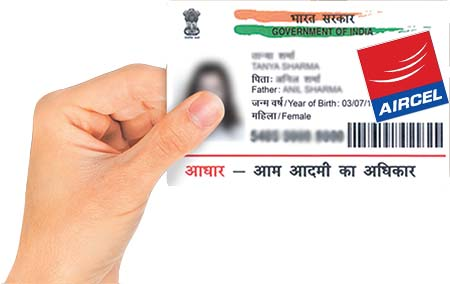 How to Link Aadhaar with Aircel Mobile Number Online