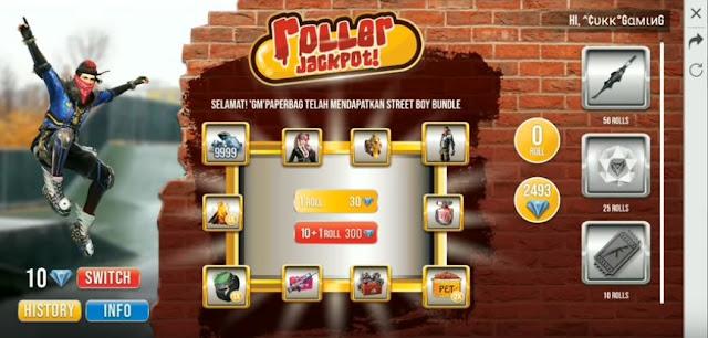 Event Roller Jackpot FF