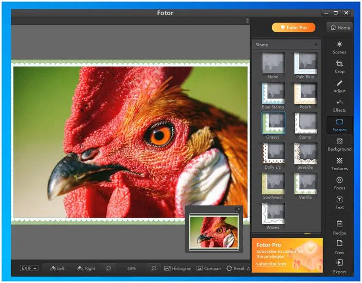 Fotor :  Πολυεφαρμογή  δημιουργίας και επεξεργασίας γραφικών και κολάζ για κινητά και υπολογιστές