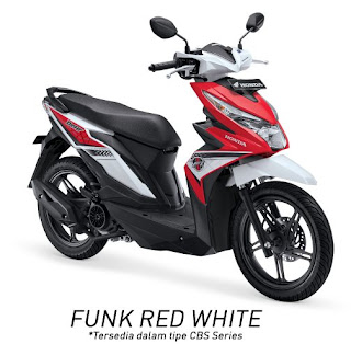 Honda BeAT eSP CBS (Funk Red White)