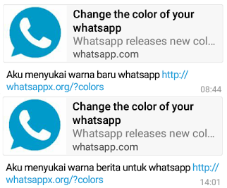 penipuan new color for whatsapp