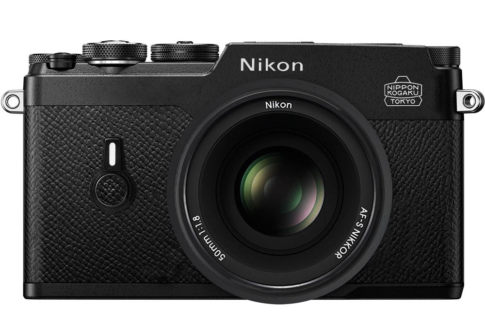 Концепт беззеркальной камеры Nikon от Broxibear