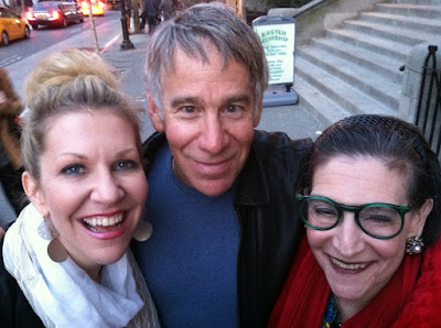 Karen with mezzo-soprano JOYCE DiDONATO and composer STEPHEN SCHWARTZ in New York, April 2014