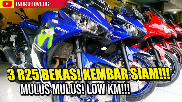 Review Harga Yamaha R25 Second Semarang Update 2021