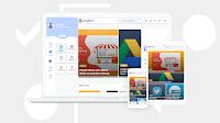 Hartomy Grid Blogger Template Premium free