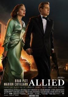Sinopsis Film Allied (2016)