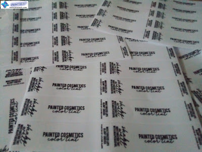 Vinyl Sticker Labels Philippines - Painted Cosmetics