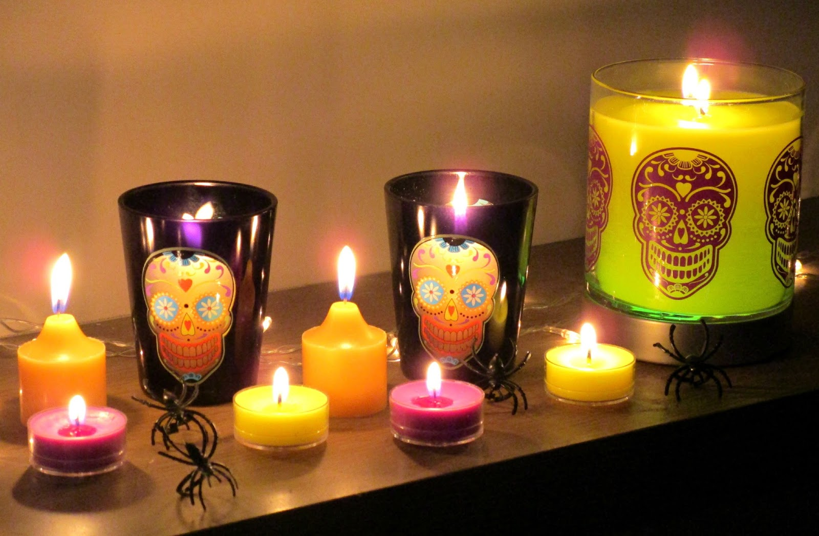 partylite halloween candle review giveaway