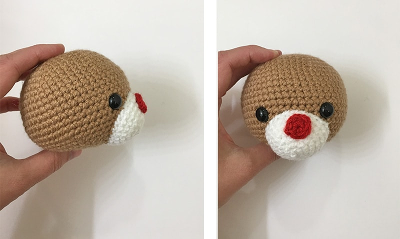 Amigurumi Reindeer - A Free Crochet Pattern - Grace and Yarn