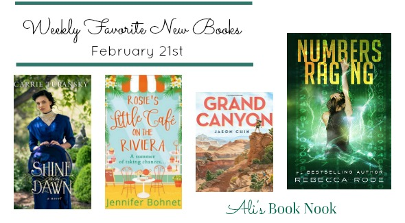 Weekly Favorite New Books Published Feb 21