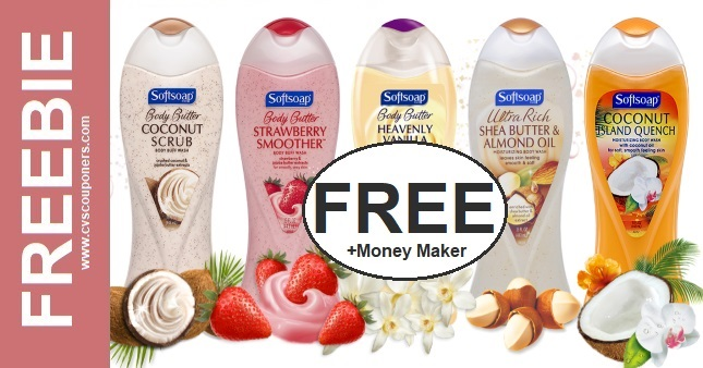 FREE Softsoap Body Wash CVS Deal 9-13-9-19