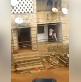Boy engages in physical fight with his father for not giving him money for food (video)
