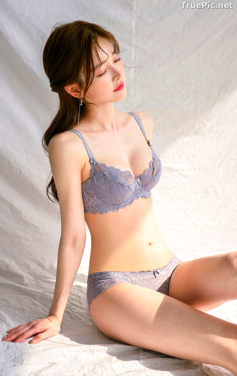 Image Korean Fashion Model - Kim Hee Jeong - Lingerie Gift for You - TruePic.net - Picture-2