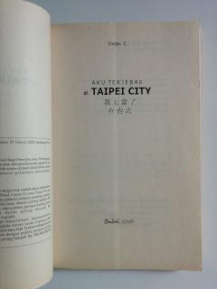 Aku Terjebak di Taipei City
