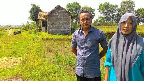 Beli Dari Hasil Nabung, Tukang Ojek Ini Justru Wakafkan Tanahnya Untuk Kepentingan Sosial