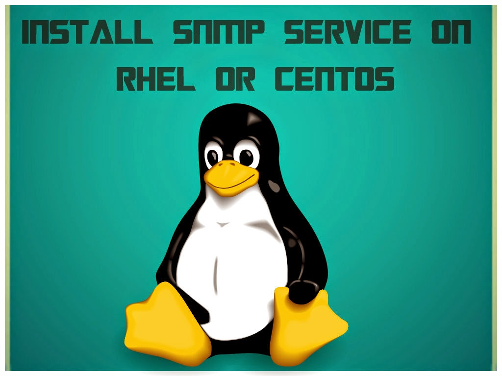 Install SNMP Service on RHEL or CentOS - UnixMantra