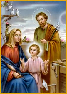 Resultado de imagen de la sagrada familia festividad